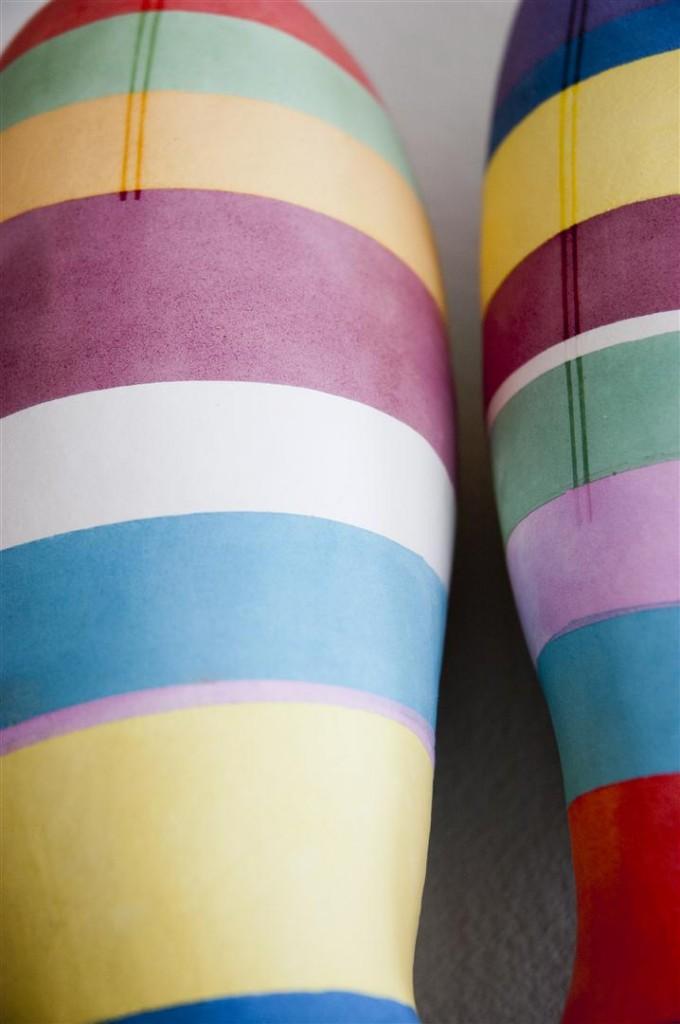ceramic sculpture, contemporary ceramics, chromosome