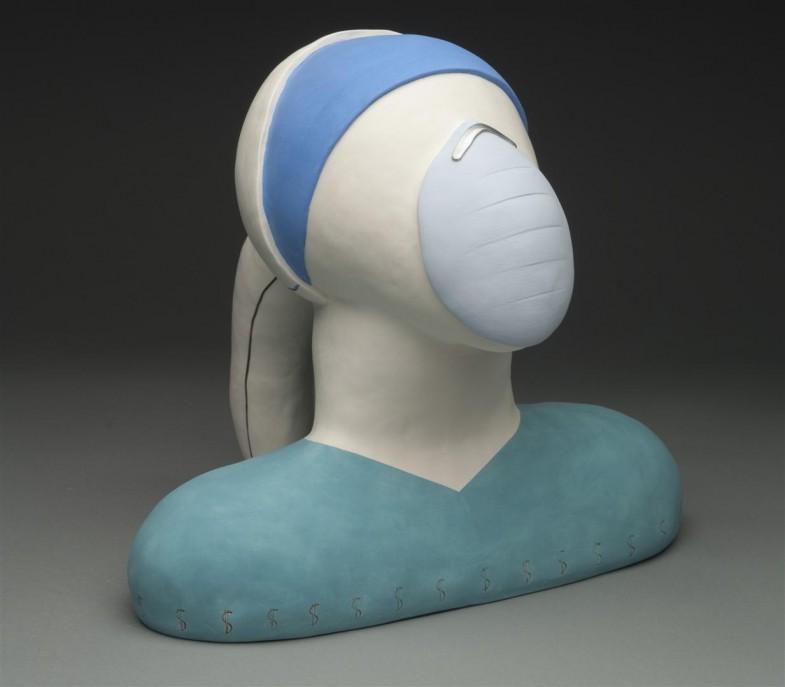 ceramic sculpture, contemporary ceramics, medicine