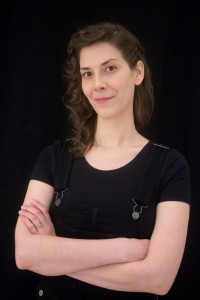 Angela Dieffenbach, artist head shot, Chicago artist, ceramic sculptor, ceramics, Chicago artist, art and science, clay