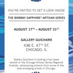 bombay sapphire, Chicago Semi Finalist, bombay sapphire artisan series, Dieffenbach, Angela Dieffenbach, Chicago art, Chicago artist