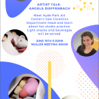 Ceramics Artist Talk, Chicago Ceramics, HPAC, Hyde Park Art Center, Angela Dieffenbach, Artist Talk